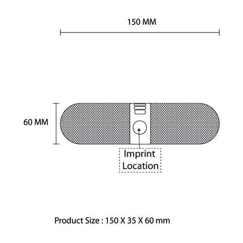 Outdoor Bluetooth Wireless Speaker With Hands-Free
