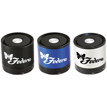Cylinder Mini Bluetooth Speaker With Mic