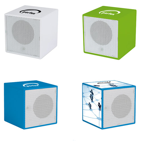 Mini Cube Shape Dynamic Speaker