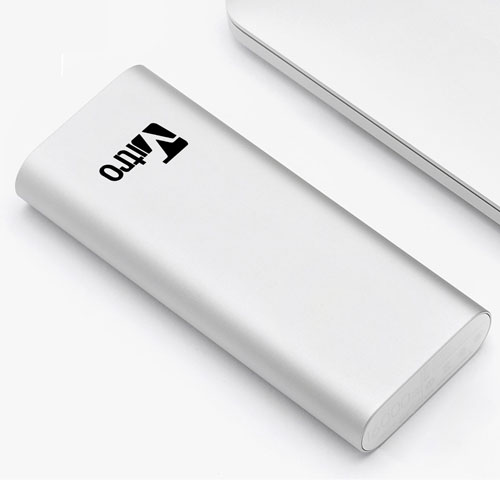Sleek Aluminum 16000mAh Power Bank Image 1