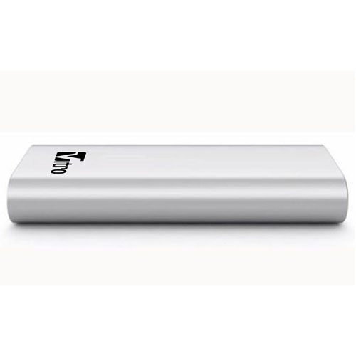 Sleek Aluminum 16000mAh Power Bank Image 3