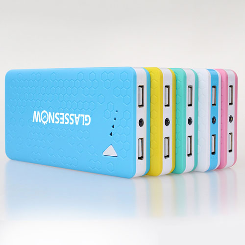 8000mAh USB External Mobile Power Bank