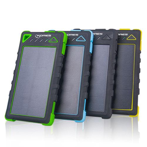 Solar Power 8000mAh Power Bank Image 1