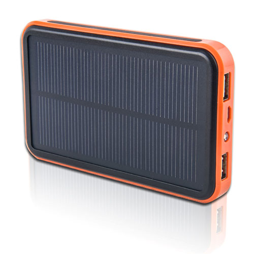 10000mAh Solar Power Bank With LED Light