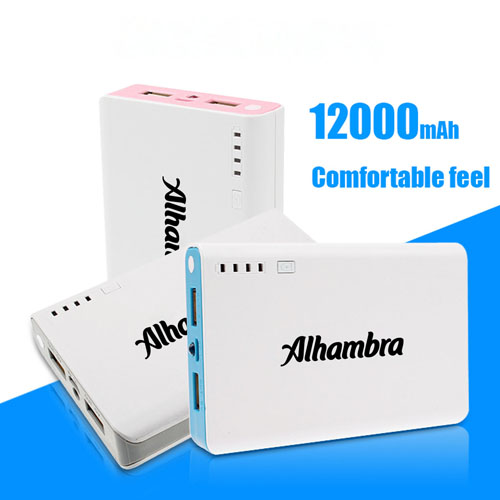 12000mAh External Power Bank