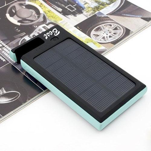 8000mAh Solar Power Bank With Phone Holder Image 2