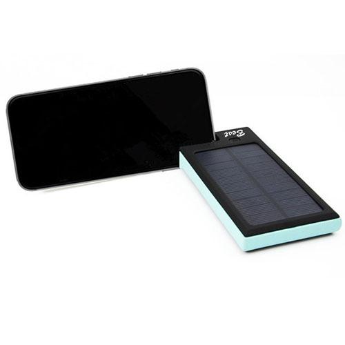 8000mAh Solar Power Bank With Phone Holder Image 3