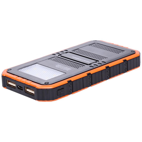 20000mAh Dual USB Solar Power Bank Image 2