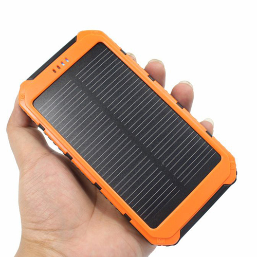 20000mAh Dual USB Solar Power Bank Image 4