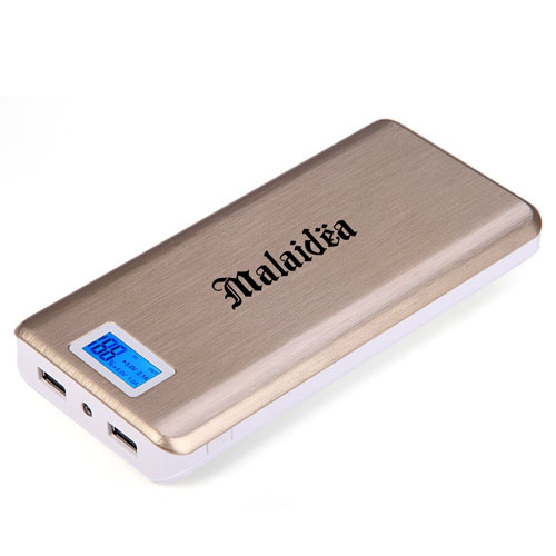 20000mAh Dual USB Power Bank With LCD Display Image 2