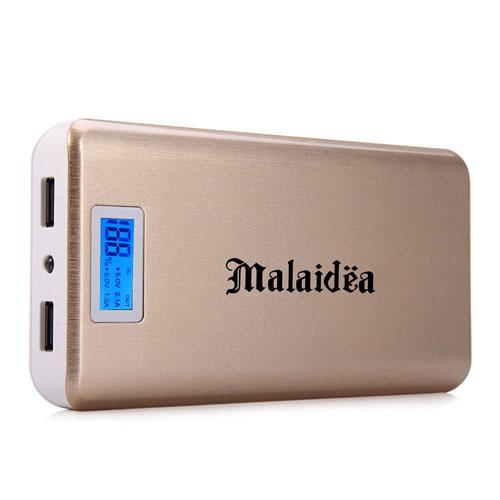 20000mAh Dual USB Power Bank With LCD Display