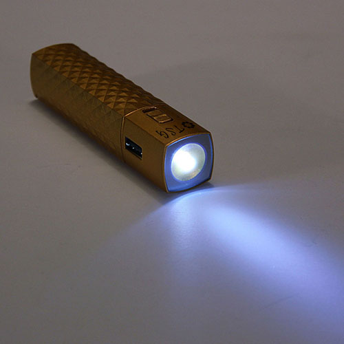 Flashlight USB Power Bank With Keychain Image 4