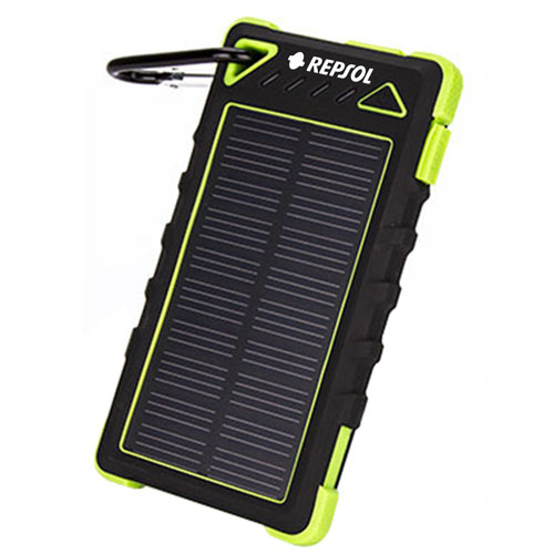Silicone Protection Waterproof Solar Power Bank Image 1
