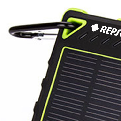 Silicone Protection Waterproof Solar Power Bank Image 2