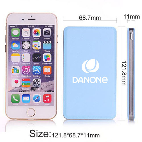 Slim Portable 4000mah Mobile Power Bank