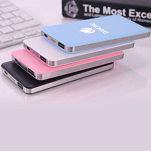 Slim Portable 4000mah Mobile Power Bank Image 1