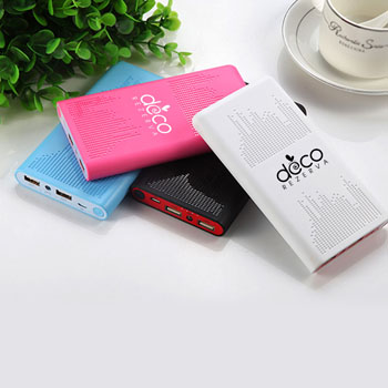 Equalizer 5600mAh Power Bank With Dual USB