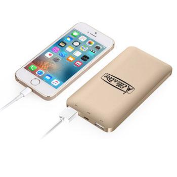 Dual USB Metal 5000mAh Power Bank