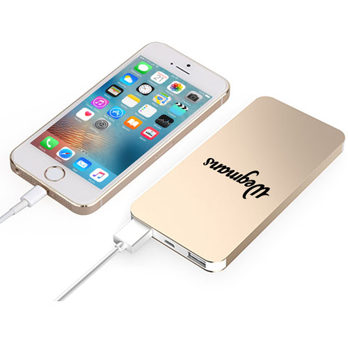 iPhone Shaped Power Bank With Dual USB Port