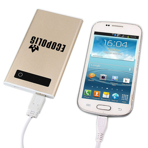 10000mAh Touch Screen External Power Bank