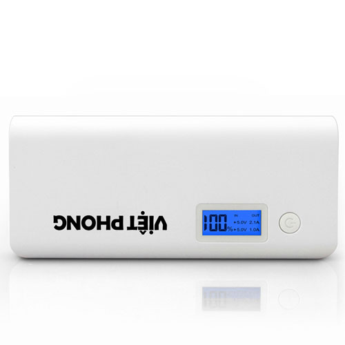 Dual USB 20000mAh Digital Power Bank Image 1