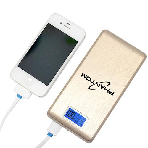 15000mAh Dual USB LCD Power Bank