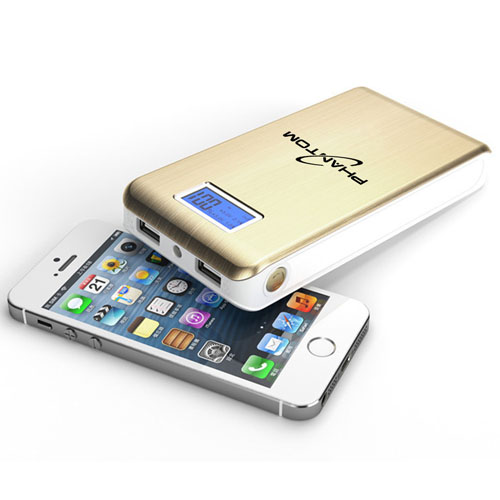 15000mAh Dual USB LCD Power Bank