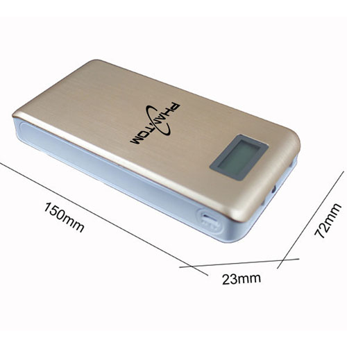 15000mAh Dual USB LCD Power Bank Image 2