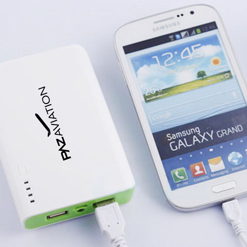 Twin USB 12000mAh Power Bank