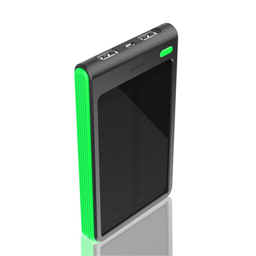 6000mAh Dual USB Solar Power Bank Image 3