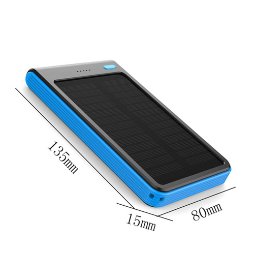 6000mAh Dual USB Solar Power Bank Image 5