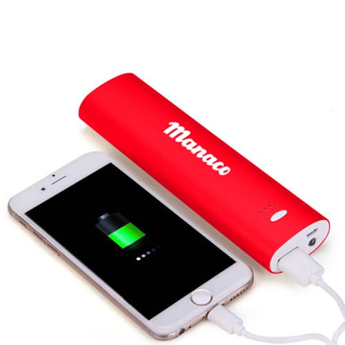 10000mAh Power Bank With LED Flashlight