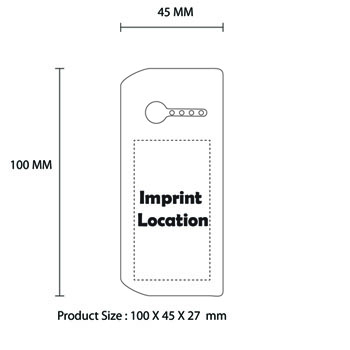 Portable Dual USB Output Power Bank For SmartPhone