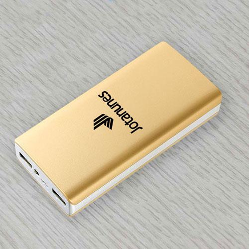 Dual USB 10000mAh Mobile Power Bank Image 1