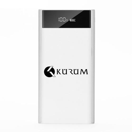LCD 20000mAH Dual USB Power Bank