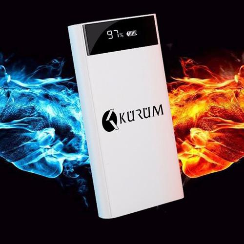 LCD 20000mAH Dual USB Power Bank