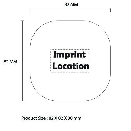 Moon Box 6000mAh Power Bank Imprint Image