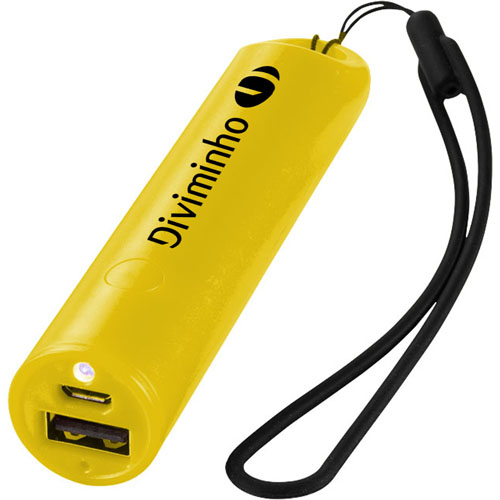 Beam 2200mAh Power Bank With Lanyard Image 1