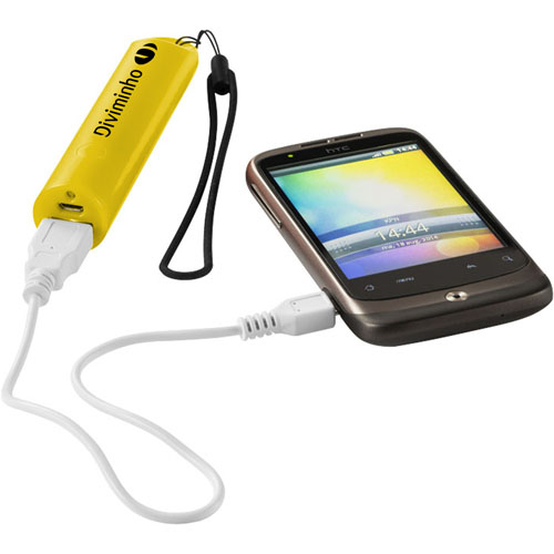 Beam 2200mAh Power Bank With Lanyard Image 3