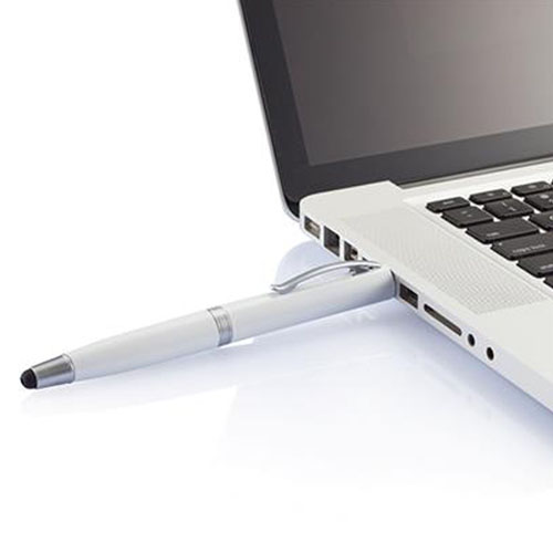 Pen Shaped 650 mAh Power Bank With Stylus