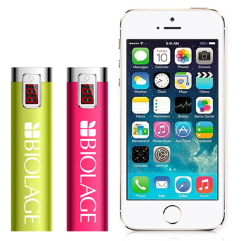 Portable LED Display 2200mAh Power Bank