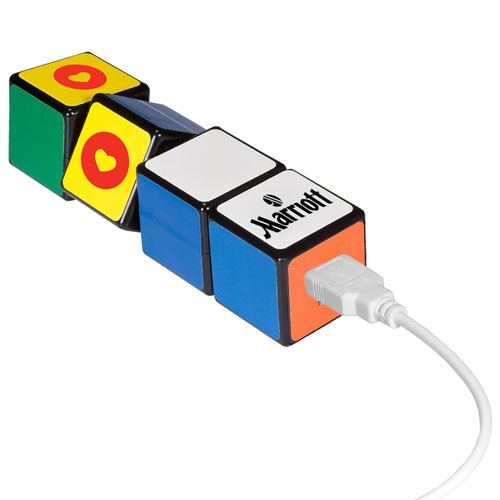 Rubik Cube 2600mAh Power Bank