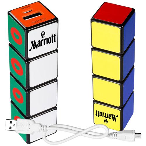 Rubik Cube 2600mAh Power Bank