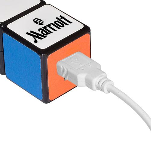 Rubik Cube 2600mAh Power Bank Image 2