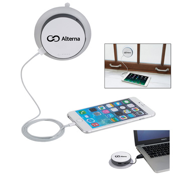 Round Window Suction Solar Charger