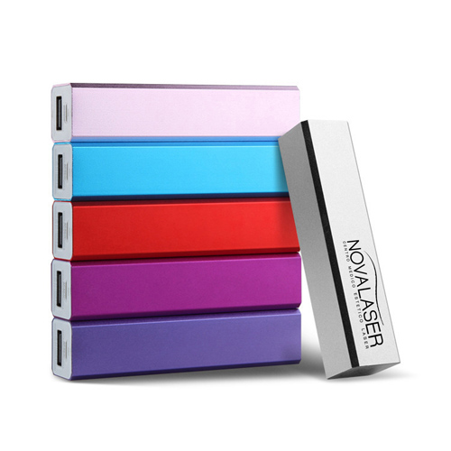 Aluminum Alloy 2600mAh Power Bank