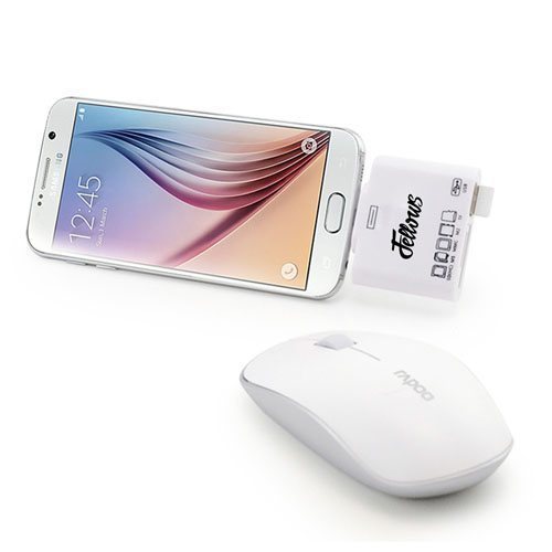 5 In 1 Micro USB OTG Smart Card Reader