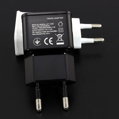 EU Dual USB Wall Charger