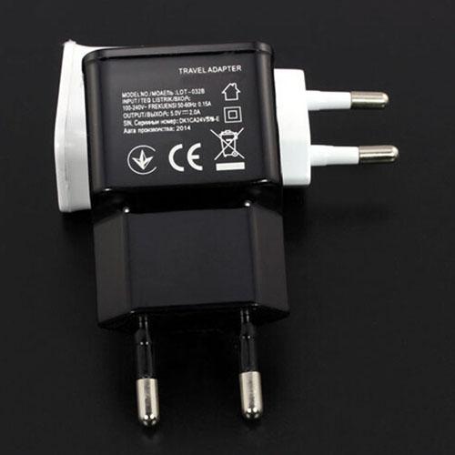 EU Dual USB Wall Charger