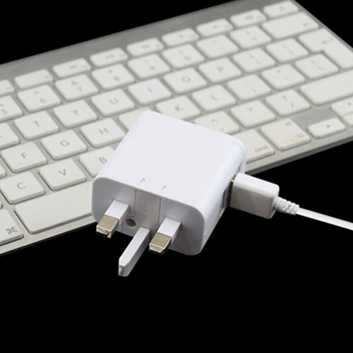 UK Triple USB Power Adaptor